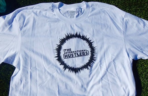 international Hustlers White T shirt